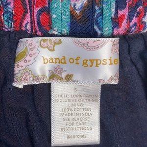 Band of Gypsies Shorts - Band of Gypsies Boho Paisley Pattern Shorts